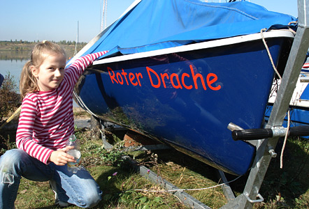 Aos Bootstaufe3 442 in ALL-on-SEA youngsters-Boote haben jetzt Namen